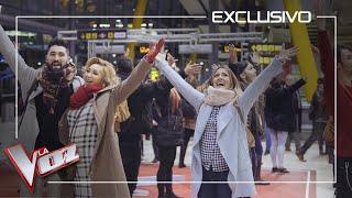 La-Voz-sorprende-con-una-performance-en-el-aeropuerto-de-Madrid-La-Voz-Antena-3