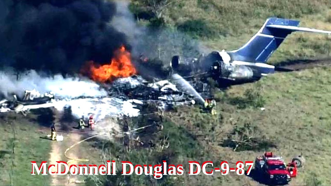 Крушение самолета Douglas DC-9 в США