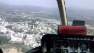 Amazing helicopter ride from Sanjhi Chhat to Katra