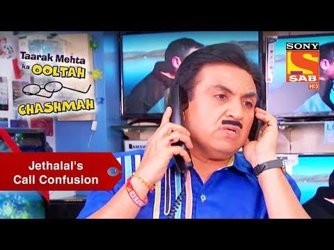 Jethalal's Call Confusion   Taarak Mehta Ka Ooltah Chashmah