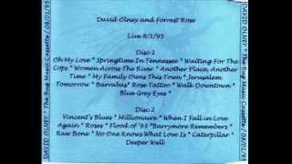 David Olney and Forrest Rose, August 1st 95, set 1