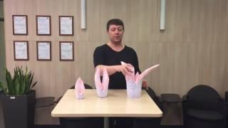 Оригами лебедь.