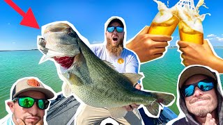 Epic DRINKING Fishing CHALLENGE in MEXICO! ( 2v2 )