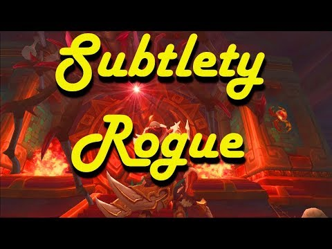 Subtlety Rogue - Battle for Azeroth