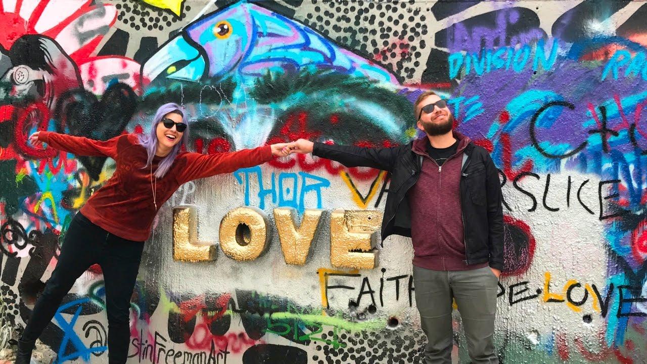 Austin Graffiti Park Love