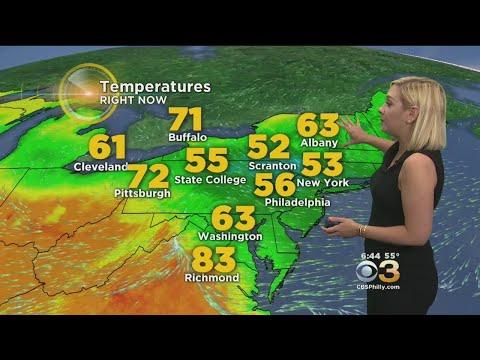 Weather Update: Temperatures Rebound Tomorrow