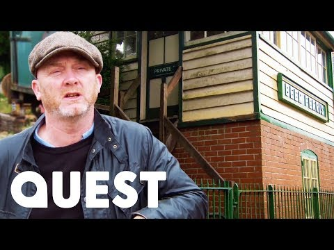 A Train Station Full Of Hidden Treasures | Salvage Hunters