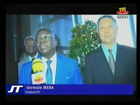 Séance de Travail Chambre de Commerce Togo & Chine
