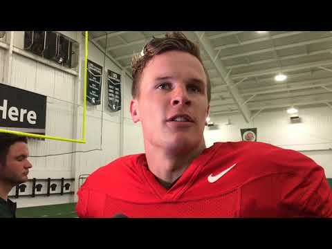 Brian Lewerke frustrated by offense's performance in first scrimmage