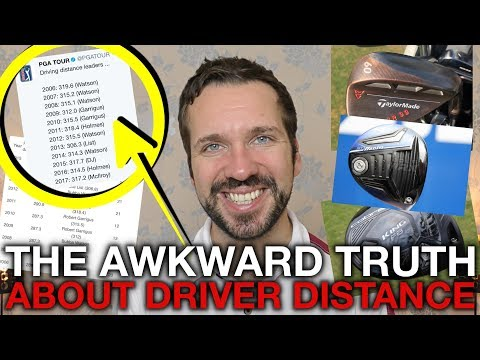 The Awkward Truth About Driver Distance - Tech Tuesday