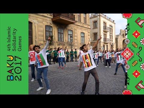 Bakı-2017 Flashmob