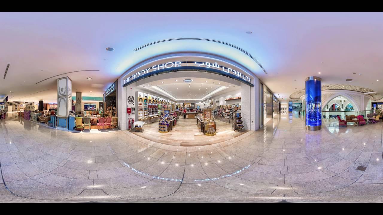 The Body Shop Dubai Mall 360 Video Youtube
