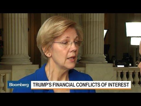Warren: Trump Should Follow Mnuchin on Blind Trust