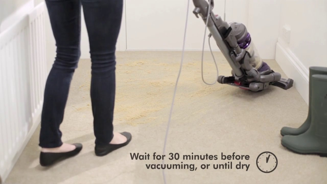 Dyson Zorb Carpet Cleaning Powder Youtube