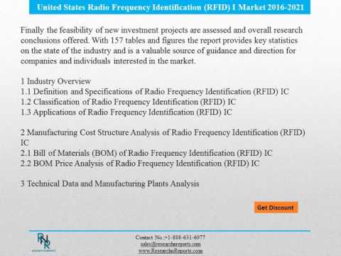 United States Radio Frequency Identification Devices Analysis Reports to 2021 and Forecasts