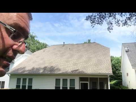 Lightning Strikes Customers House. SERIOUS DAMAGE