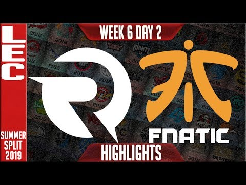 OG vs FNC Highlights | LEC Summer 2019 Week 6 Day 2 | Origen vs Fnatic