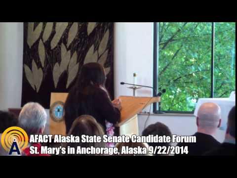 AFACT Alaska State Senate Candidate Forum