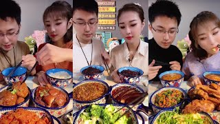Chinese mukbang ASMR  Eat pork…