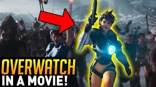 Overwatch | Tracer is in an ACTUAL MOVIE?! (Ready Player One)