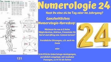 Numerologie 24