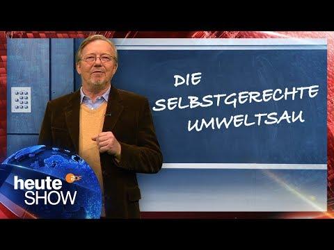 Die deutsche Scheinheiligkeit beim Umweltschutz | heute-show vom 17.11.2017