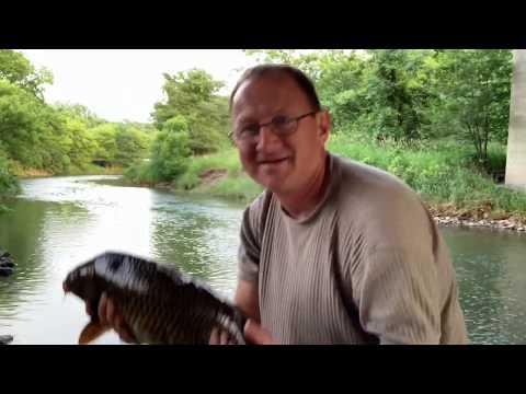 Des Moines Walnut Creek Fishing