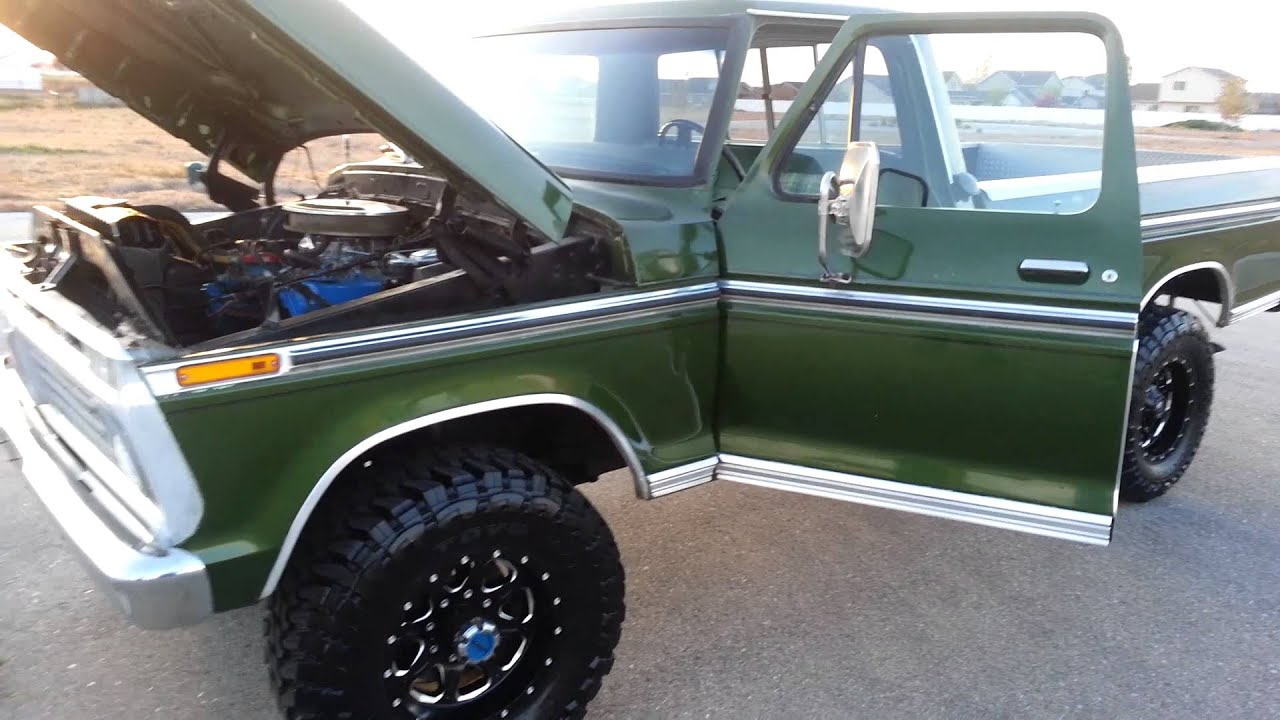 1973 Ford F250 Youtube