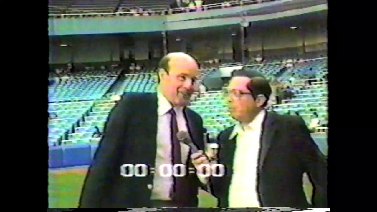 Bagatelle & Hirsch at Yankees - 1985