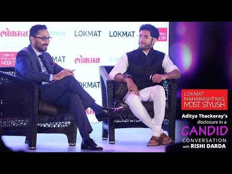 Aditya Thackeray's disclosure in a Candid Conversation with Rishi Darda I Lokmat Exclusive