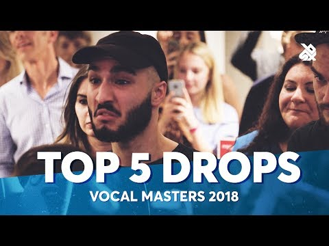TOP 5 DROPS 😱 SBX Vocal Masters 2018