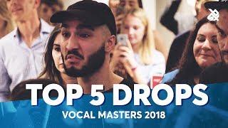 Video TOP 5 DROPS 😱 SBX Vocal Masters 2018 download MP3, 3GP, MP4, WEBM, AVI, FLV Mei 2018