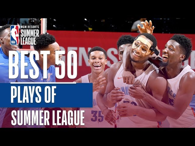 Best 50 Plays From the 2018 MGM Resorts Summer League