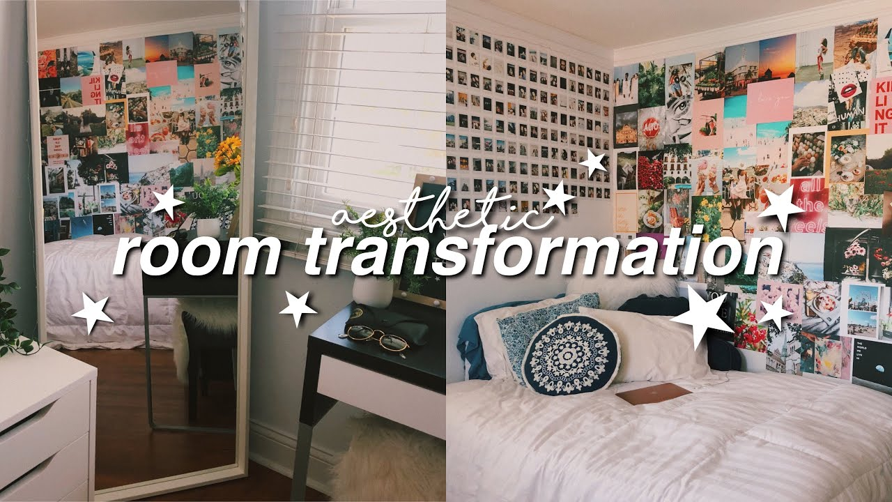 Room Transformation Aesthetic Room Makeover Isabelle Dyer Youtube