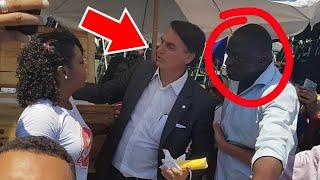 CÂMERA ESCONDIDA FLAGRA JAIR BOLSONARO COMETENDO ATO RACISTA