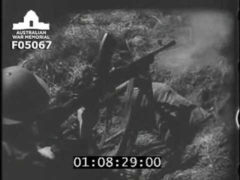 The light machine gun [Bren gun]