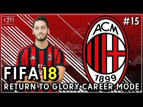 FIFA 18 AC Milan Career Mode: Pertandingan Terakhir Grup Europa League Lawan AEK Athens #15
