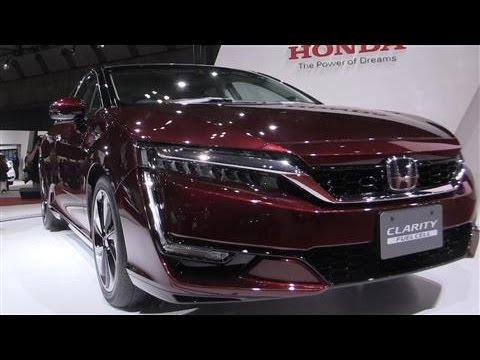 Honda Unveils a Greener Hydrogen-Powered Car