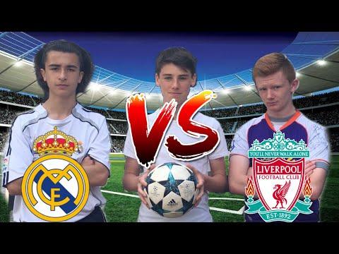 SALAH vs RONALDO CHAMPIONS LEAGUE FINAL FOOTBALL CHALLENGES - Liverpool Vs Real Madrid - False 9