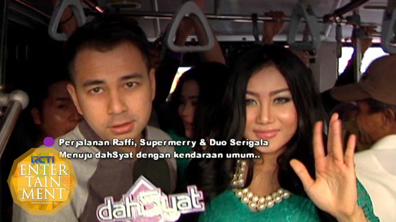 Foto hot duo serigala - Raffi Duo Serigala Desak Desakan Naik Busway Dahsyat 14 09 2015 Youtube