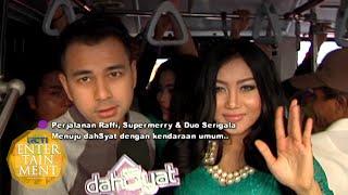 Raffi & Duo Serigala Desak-Desakan Naik Busway [Dahsyat] [14 09 2015]