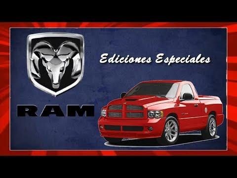 DODGE RAM EDICIONES ESPECIALES  (primera parte)