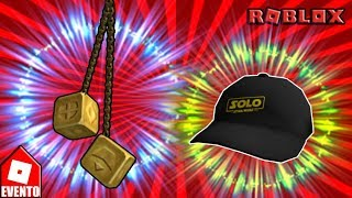 Roblox itens free (Han Solo's Dice + Only Branded Cap)