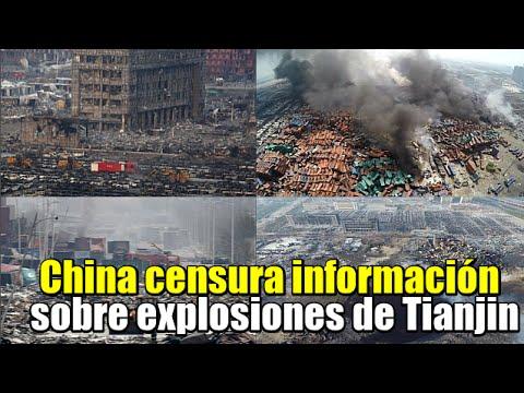 China censura información sobre explosiones en Tianjin