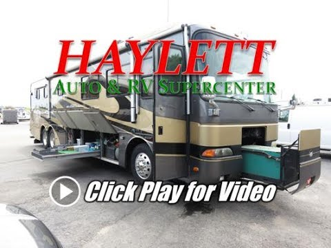 HaylettRV - 2001 Monaco Dynasty Chancellor 370 Used Class A Diesel Pusher with Aqua Heat & Air Ride