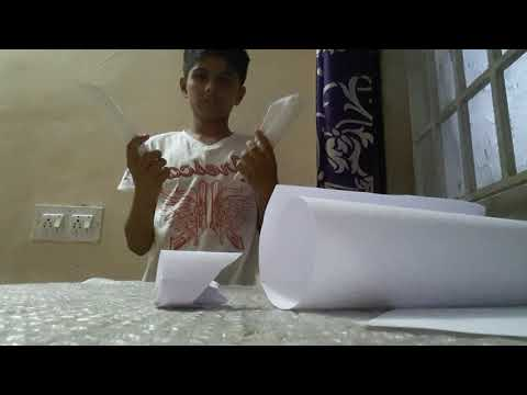How to make a simple paper wolverine claws in tamil