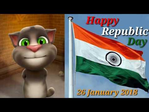 Jan Gan Man by talking tom | Happy Republic Day | Rashtriya gaan talking tom | funny videos