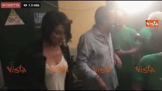 Salvini arriva con la Isoardi a Ponte di Legno