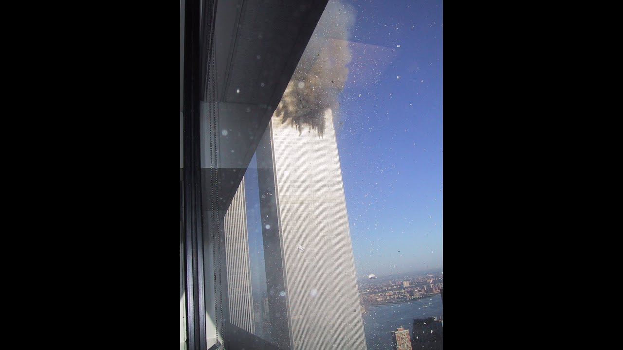 The Only Existing Footage Of 1st Plane Hitting Wtc Youtube