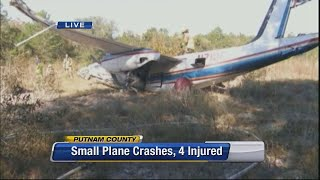 Plane crashes in Putnam